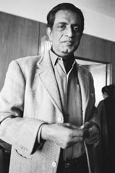 Picture of an author: Satyajit Ray