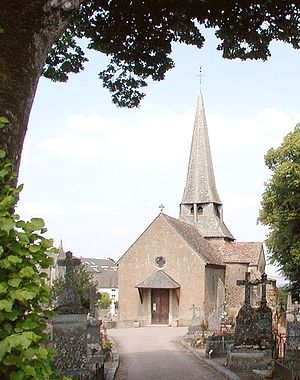 Saulieu - The 13th-century church of Saint-Saturnin.