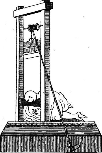 Schéma d'une machine à décapiter (XVIIe siècle).jpg