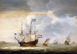 Ship off the Coast