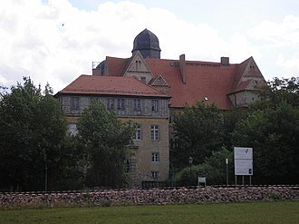 Schloss Köthen - The Johann-Georg and Ludwig buildings seen from the south.