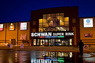 Schwan Super Rink - Image: Schwan Super Rink National Sports Center Blaine
