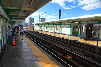Science Park station (MBTA) - Science Park before renovations