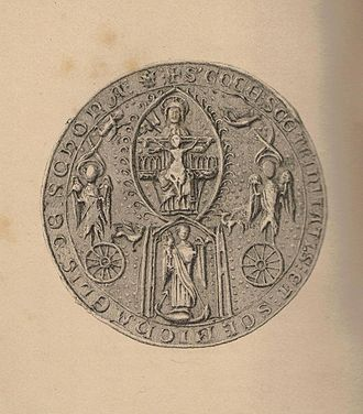 Abbot of Scone - Another seal of Scone Abbey.