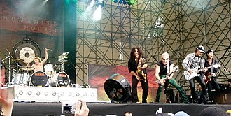 Scorpions (band) - Scorpions in 2007