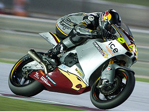 Marc VDS Racing Team - Scott Redding on the Marc VDS Suter MMX Moto2 motorcycle