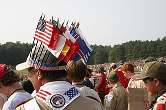 National Scout jamboree (Boy Scouts of America) - Scouts from all over the country and the world showed up for the 2005 jamboree.