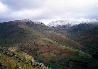 Seat Sandal mountain in United Kingdom