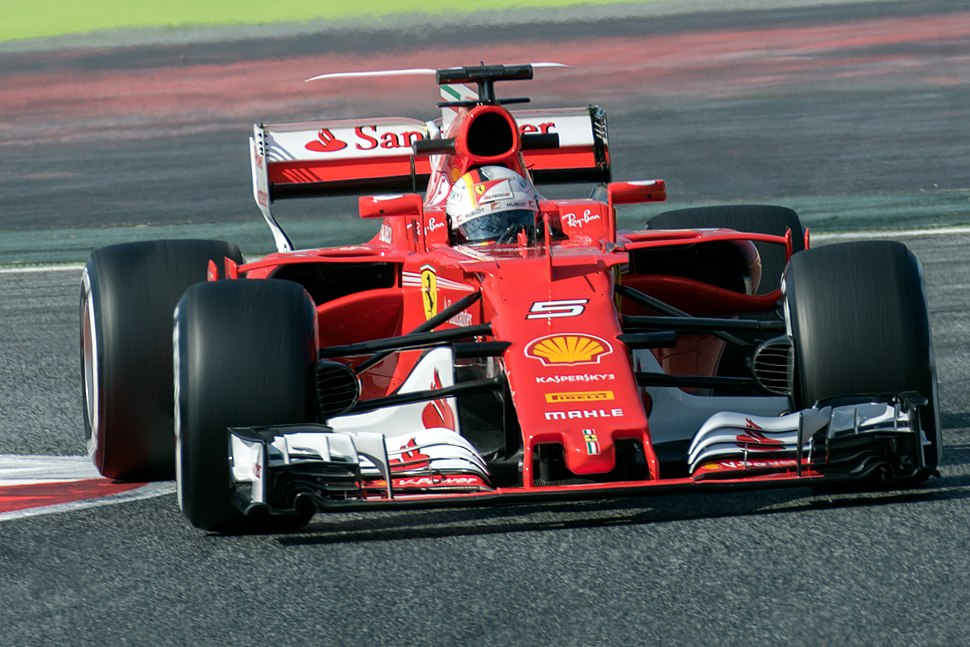 Sebastian Vettel 2017 Catalonia test (27 Feb-2 Mar) Day 1 1