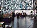 Second hand book market at Federation Square June 2014.jpg