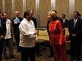 Secretary Clinton Greets Hero of Taj Mahal Palace Hotel Attacks (3730808455).jpg