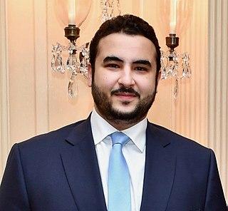 Khalid bin Salman bin Abdulaziz Al Saud son of King Salman of Saudi Arabia