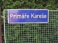 Sedlčany, Primáře Kareše, označení ulice.jpg