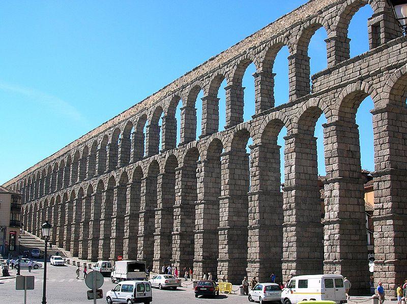 segovia acueducto 03jpg - Roman Design Architecture