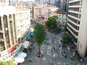 Kızılay, Ankara - Image: Selanik Street from above