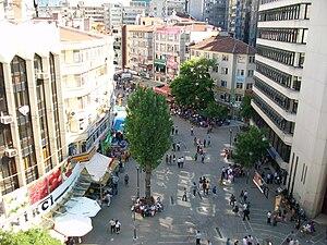 Kızılay, Ankara - Image: Selanik Street from above