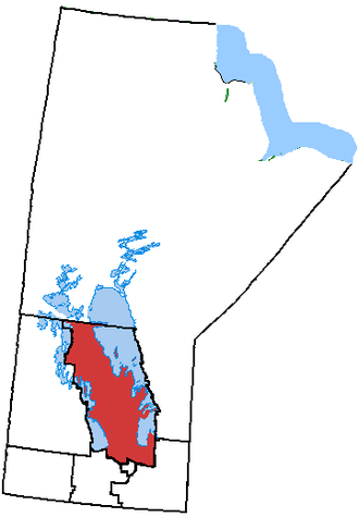 Interlake Region - The Interlake Region, in Manitoba, Canada.