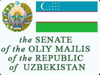Supreme Assembly (Uzbekistan) - Image: Senate of Uzbekistan logo