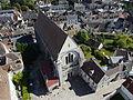 Senlis - Collégiale Saint-Frambourg, vue aérienne.JPG