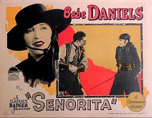 Senorita (film) - Lobby card