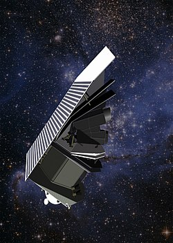 Artist rendering of the Sentinel Space Telescope