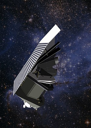 B612 Foundation - A depiction of the Sentinel Space Telescope, being built by Ball Aerospace