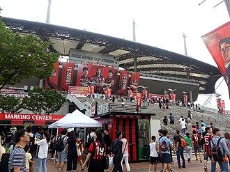 FC Seoul - Seoul World Cup Stadium in 2017