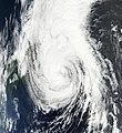 Severe Tropical Storm Krovanh at peak intensity on southern Japan 31 - 08 - 09.jpg