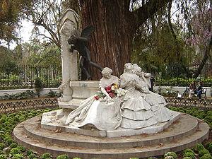 Gustavo Adolfo Bécquer - Glorieta de Bécquer in Seville, Spain