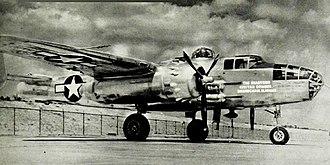 Civitan International - B-25 named for the Shadyside Civitan Club
