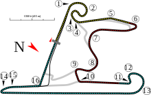 Shanghai International Racing Circuit track map.svg