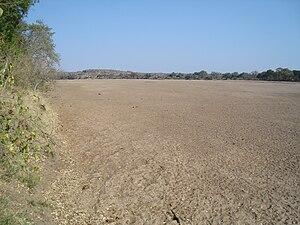 Shashe River - Shashe River at Shashi Irrigation Scheme, Zimbabwe