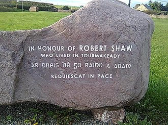 Robert Shaw (actor) - Image: Shaw Monument 02