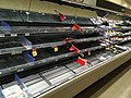 Shelves void of meat in a Canadian supermarket.jpg