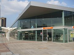 Shepherd's Bush Overground stn entrance.JPG