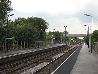 Sherburn-in-Elmet - Sherburn in Elmet railway station