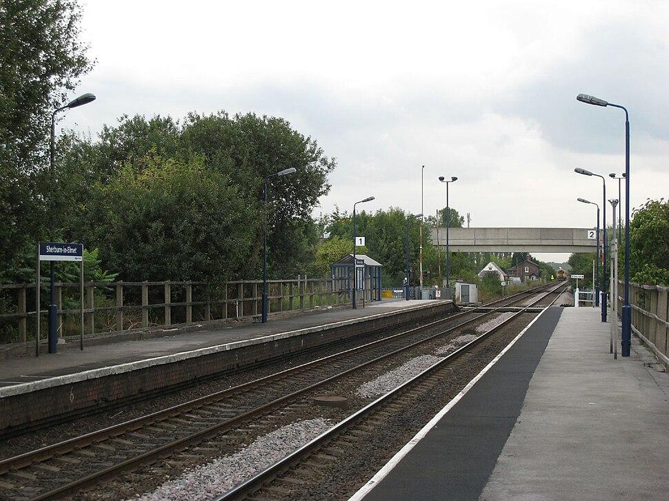 Sherburn-in-Elmet station