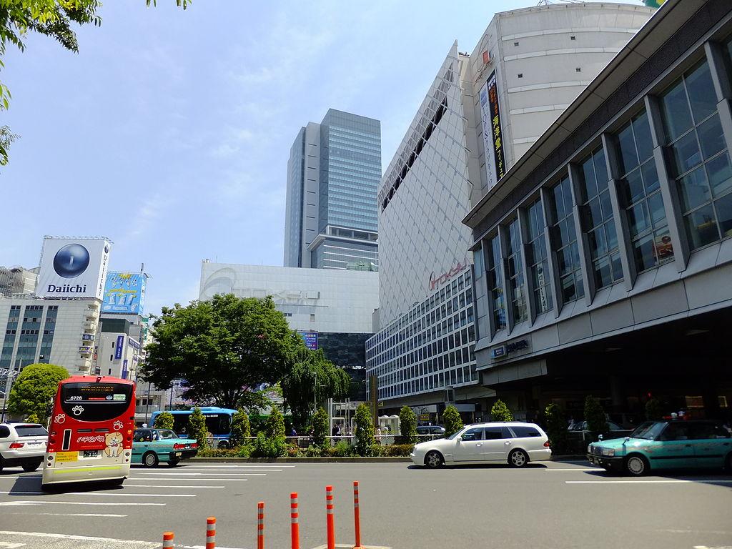 Shibuya Station with Shibuya Hikarie 20130506