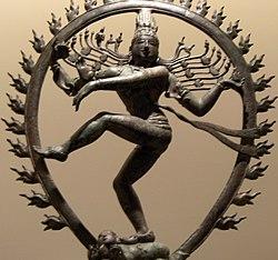 Shiva, como Nataraja.