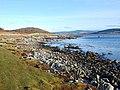 Shoreline, West Loch Tarbert - geograph.org.uk - 1599415.jpg