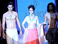 Shraddha Kapoor walks the ramp for Anmol Jewellers at IIJW 2011 (1).jpg