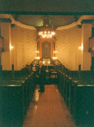 History of the Jews in Norway - Sanctuary of the synagogue in Trondheim