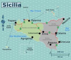 Cartina Sicilia Turistica.Sicilia Occidentale Wikivoyage Guida Turistica Di Viaggio