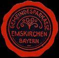 Siegelmarke Gemeindesparkasse - Emskirchen - Bayern W0262906.jpg