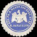 Siegelmarke K. Pr. 4. Westfälisches Infanterie Regiment No. 17 - 4. Bataillon W0285708.jpg