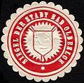 Siegelmarke Siegel der Stadt Bad Oldesloe W0232704.jpg