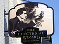 Sign for the Electrical Wizard - geograph.org.uk - 2576681.jpg