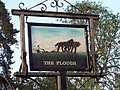 Sign for the Plough Inn - geograph.org.uk - 464937.jpg
