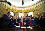Signature of the NASA Authorization Act of 2017 17389085 1157990484309987 54545973912279445 o.jpg
