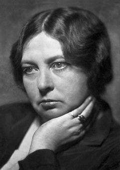 Sigrid Undset 1928.   Foto:   Aage Remfeldt.